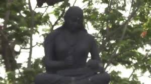 Statue of Mollamamba at Tankbund, Hyderabad