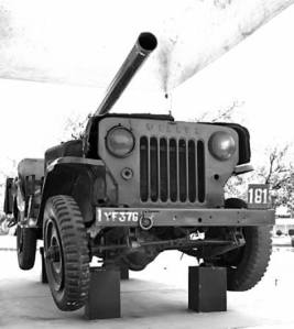 Gun Mounted Jeep used by PVC Abdul Hamid